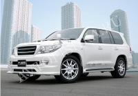 Toyota LAND CRUISER 200 (07-11) Расширители арок JAOS (комплект, 6 частей)